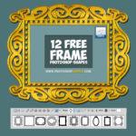 Free Photoshop Frame Shapes 1
