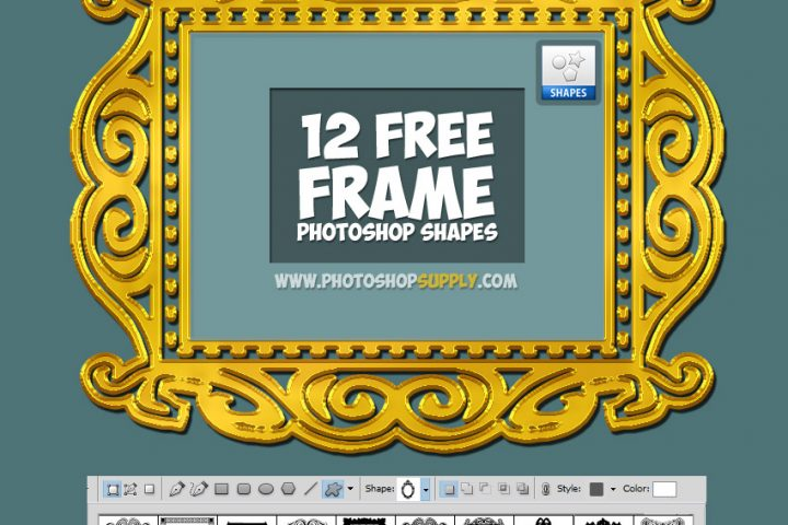 Free Photoshop Frame Shapes 1