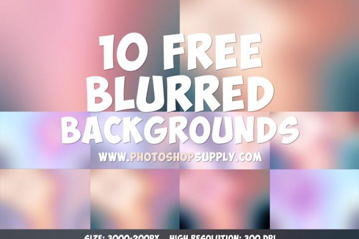 10 Beautiful Blurred Backgrounds Free