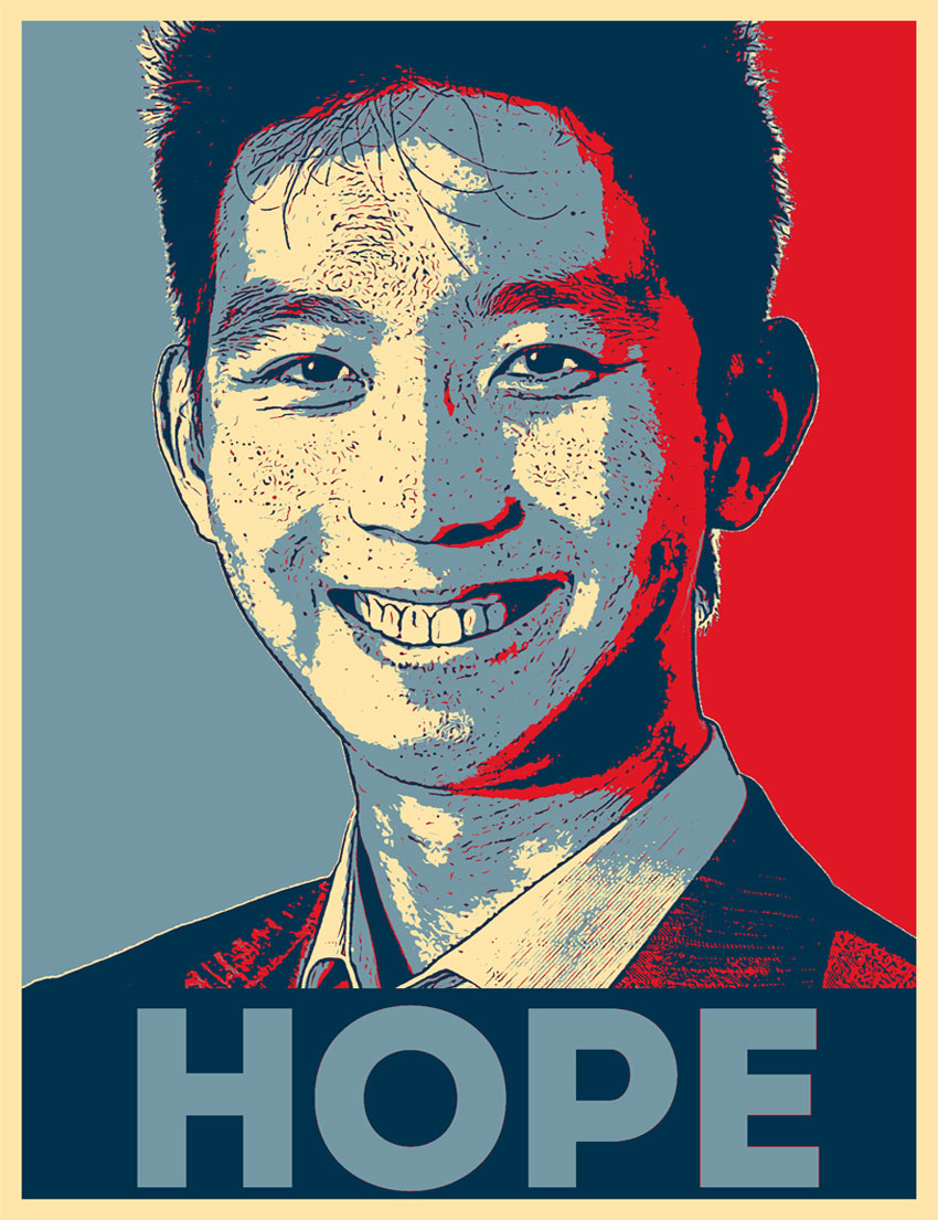 Hope Poster Photoshop Action Free