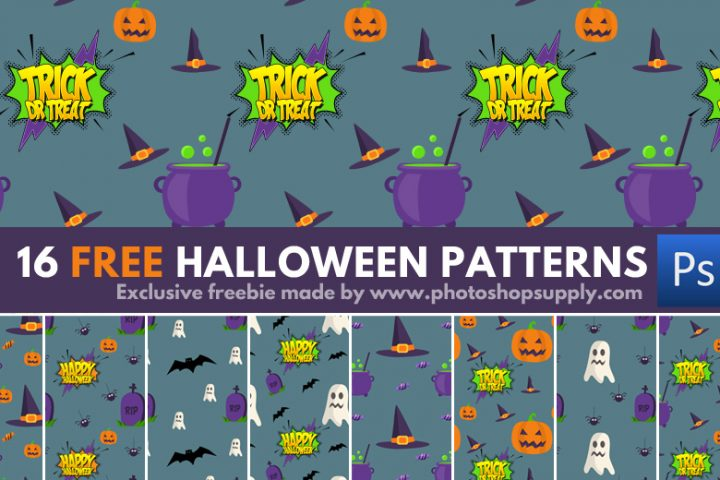 Halloween Patterns for Photoshop