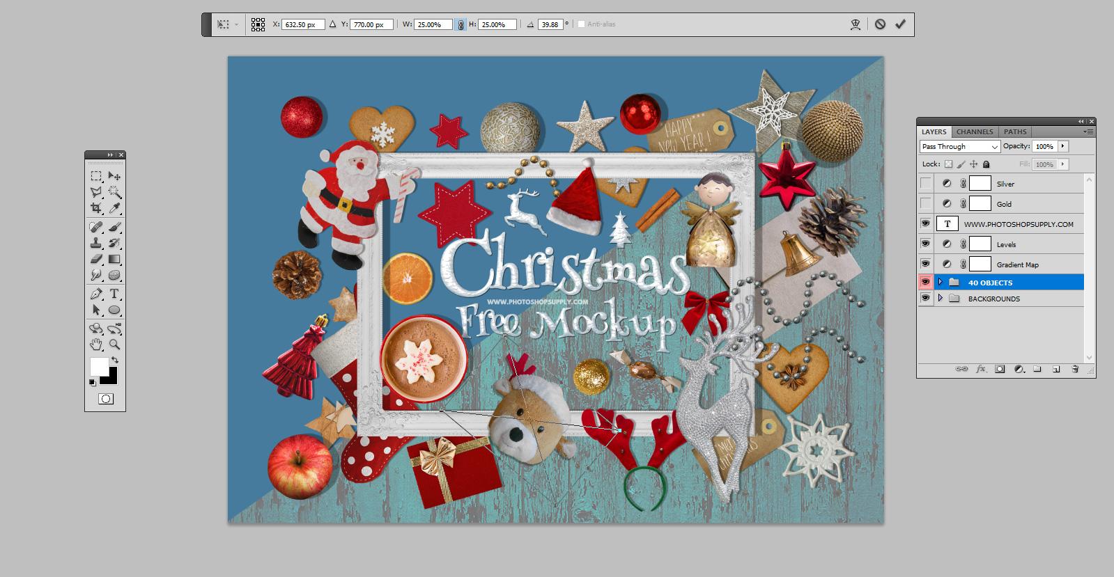 Christmas Background Creator