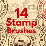 Stamp Photoshop Brushes