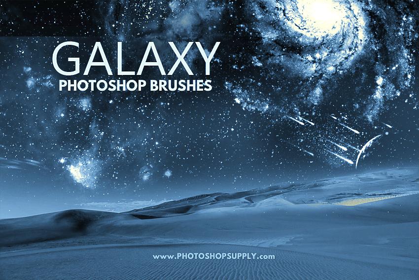 Galaxy Brushes Photoshop