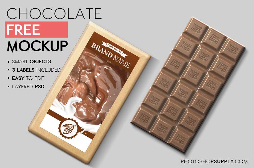 Chocolate Mockup