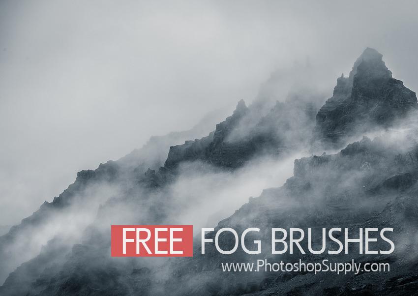 FREE) Fog Photoshop Brushes - Photoshop Supply